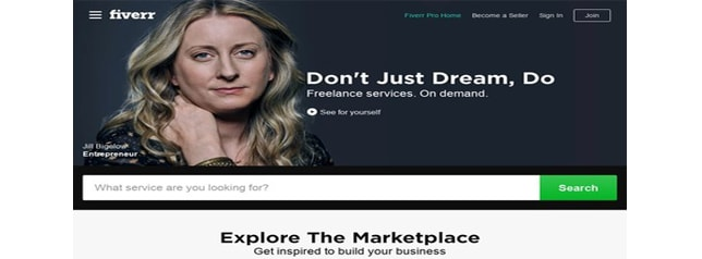 Fiverr - זירת מסחר גלובלית מקוונת